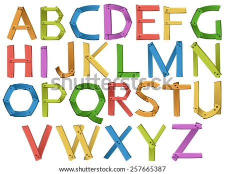 English alphabets
