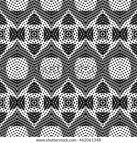 Engraving seamless pattern. Print, cloth design, wallpaper. Vector illustration.