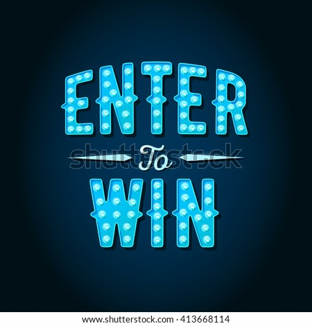Enter To Win Stock Images, Royalty-Free Images & Vectors ...
