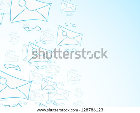 Envelope background