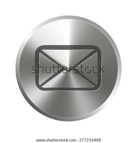 envelope  lette. icon. vector design on a white background