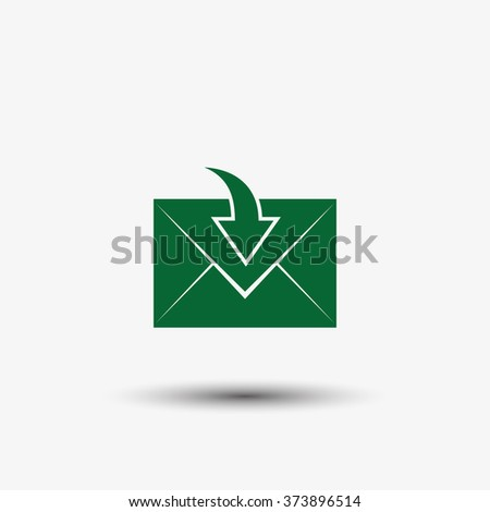 Envelope Mail icon - stock vector