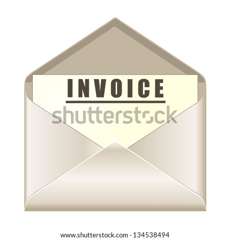 Invoice Template For Freelancers Word Invoice Paper Stock Images Royaltyfree Images  Vectors  Rent Paid Receipt Pdf with Google Docs Invoice Generator Pdf Envelope With Invoice Document Where To Get Receipt Books Pdf