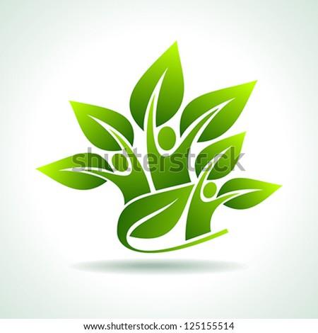 environmental idea vector - stock vector
