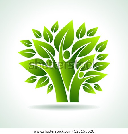 environmental idea vector - stock vector