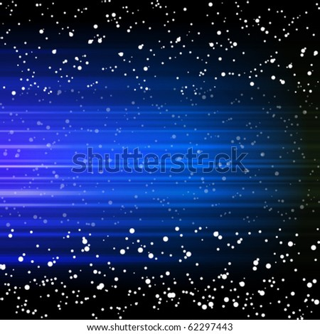 EPS Abstract blue background. Vector Illustration - stock vector