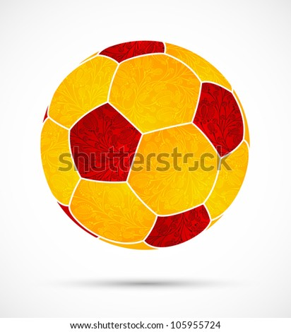 eps10, abstract soccer ball