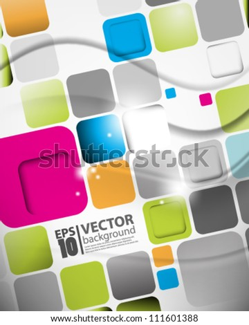 eps10 abstract vector design background - stock vector