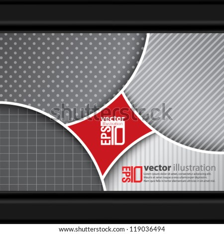 eps10 abstract vector design - futuristic design concept - stock vector