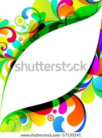 EPS10. Attractive editable background. See my portfolio for more similar images - stock vector