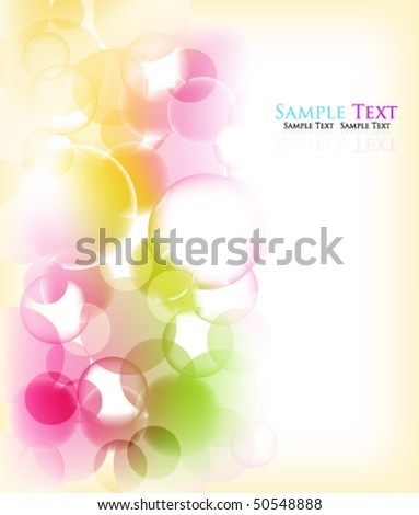 eps10 beautiful multicolor background - stock vector