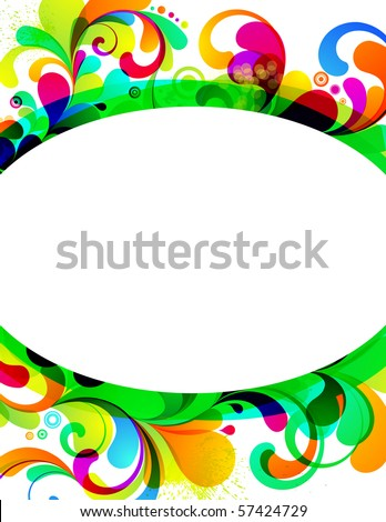 EPS10. Cheerful background. - stock vector