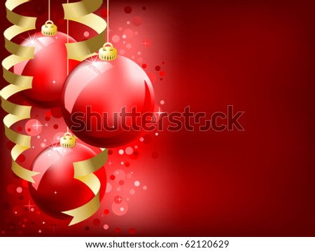 eps8 Christmas background - stock vector