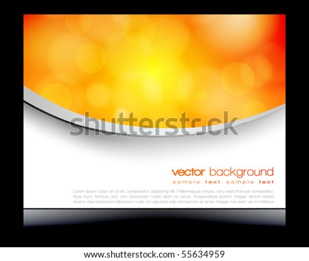 EPS10 colorful circles vector design - stock vector