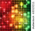 EPS10 Colorful Dots Abstract Vector Background - stock photo