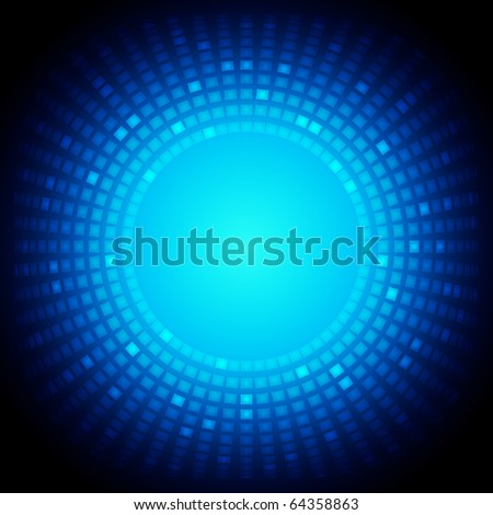 EPS10 Colorful Square Abstract Vector Background - stock vector