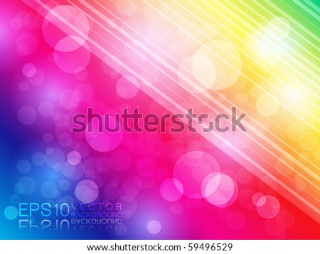 EPS10 Colorful Vector Background - stock vector