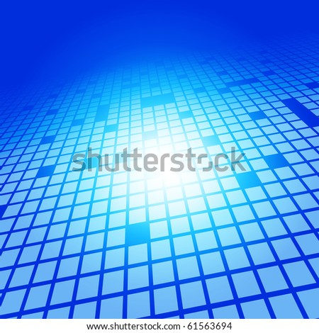 EPS10 3D Abstract Squares Vector Background - stock vector
