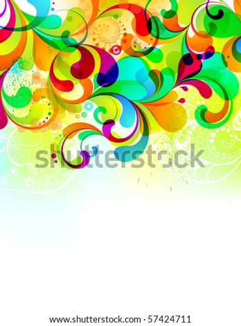 EPS10. Editable background, suitable for almost any canvas format. - stock vector