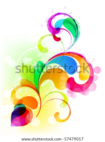 EPS10. Editable colorful trendy graphic - stock vector