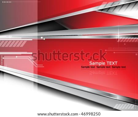 Eps10 futuristic background - stock vector