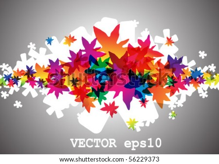 eps10 multicolor background - stock vector