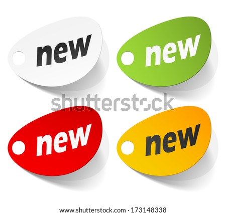 eps10, new, realistic design elements - stock vector