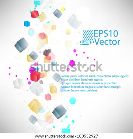 eps10 vector abstract background concept design