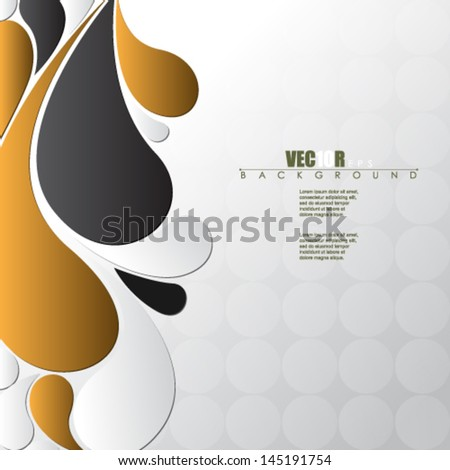 eps10 vector abstract background design - stock vector