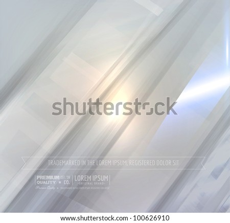 EPS10 vector abstract background for technology design or for presentations background - stock vector