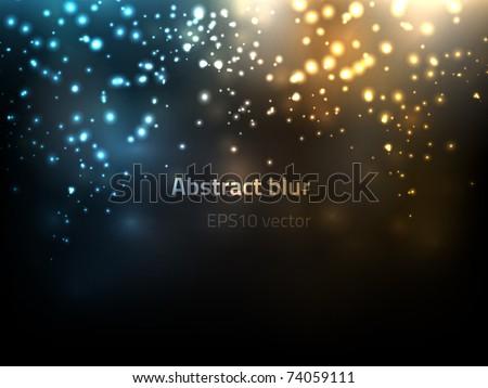 EPS10 vector abstract blur - stock vector