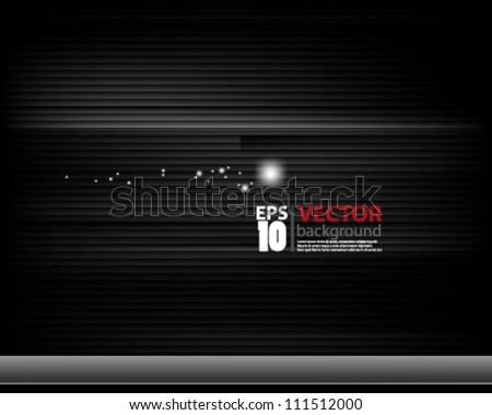 eps10 vector abstract chrome background design - stock vector