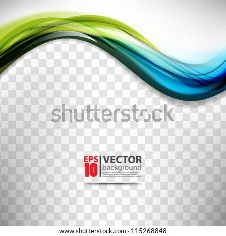 eps10 vector abstract colorful wave background