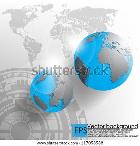 eps10 vector abstract corporate background design - stock vector