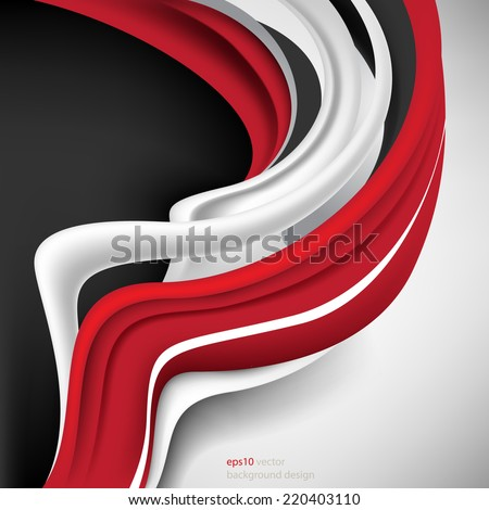 eps10 vector abstract 3d elements business background - stock vector