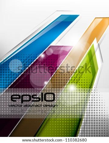 eps10 vector abstract design concept - stock vector