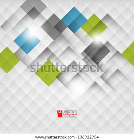 eps10 vector abstract geometric pattern textured background - stock vector
