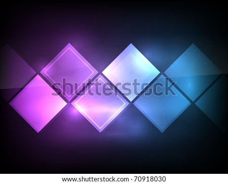 EPS10 vector abstract geometry background - stock vector