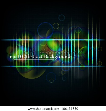 eps10 vector abstract light background - stock vector