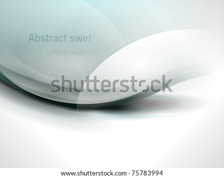 EPS10 vector abstract swirl