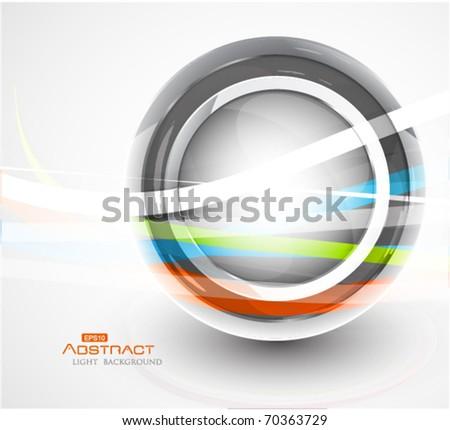 eps10 vector circle - stock vector