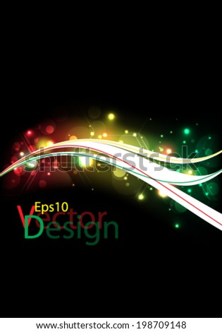 Eps10 Vector Colorful Design for you Business Poster - stock vector