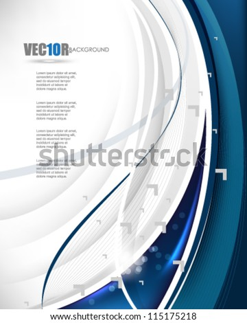 eps10 vector corporate theme background design - stock vector