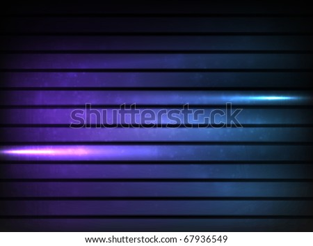 EPS10 vector horizontal stripe background, colored violet - stock vector