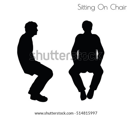 Sitting Silhouette Stock Images Royalty Free Images