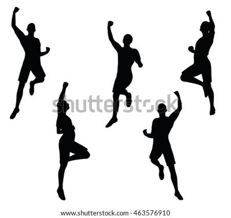 Set Silhouette Dancer ...