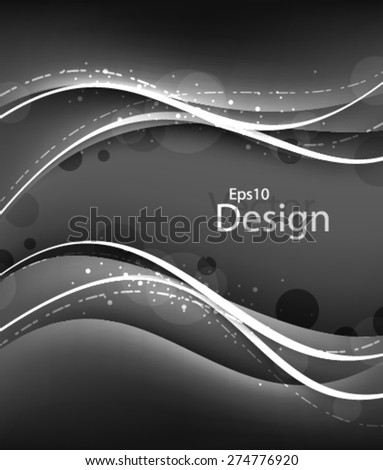 Eps10 Vector Modern Chrome concept for your business in the future