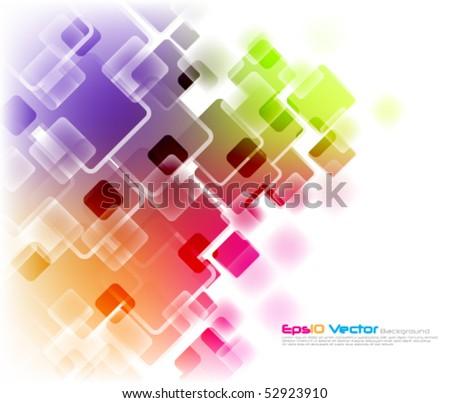 eps10 vector multicolor background - stock vector