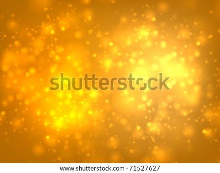 EPS10 vector orange blur - stock vector