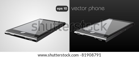 eps10 vector phone - stock vector